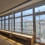 Altbau Alu-Fensterfront gewechselt in München - Oberbank