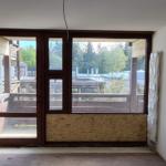 Hohenbrunn: Pflegezentrum, Altbau Holz-Alu Fenster gewechselt