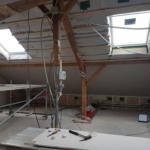 Altbausanierung / Innenausbau Dachgeschoss in Reith/Unterreit: