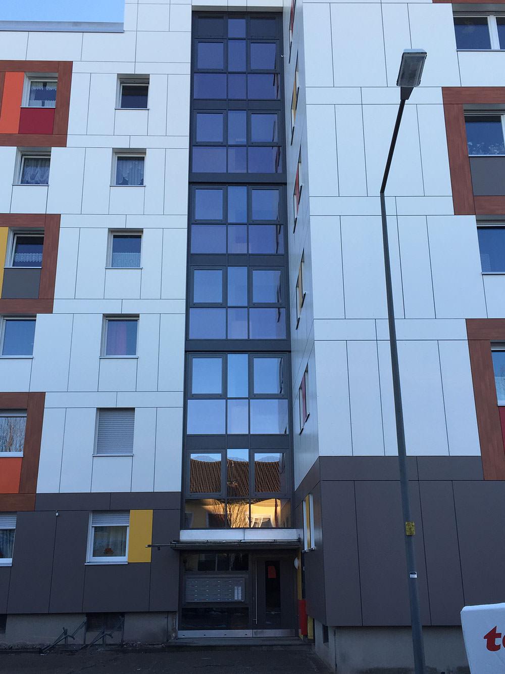 Produktbild Altbau Pfosten-Riegel Fassade in Rosenheim – Westerndorf