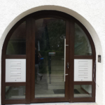 Altbau Haustüremontage Kunststoff in München