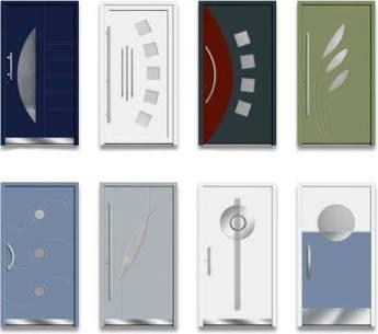 Produktbild Aluminium Haustüren Schock-line